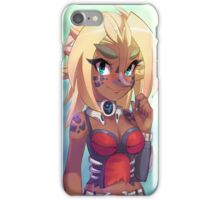 Phantasy Star Online - Beta Race : Bird Hunters iPhone Case/Skin