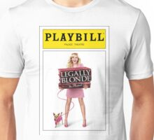 Legally Blond Playbill Unisex T-Shirt