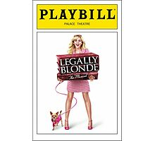 Legally Blond Playbill Photographic Print