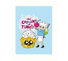 Cupjake Time!! Art Print