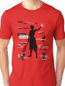 Dragon Age - Morrigan Quotes Unisex T-Shirt