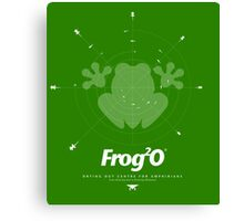 Frog2o - Drying Out Centre for Amphibians Canvas Print