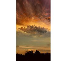 The Sky At Dusk Photographic Print