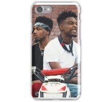 21 Savage & Metro  iPhone Case/Skin