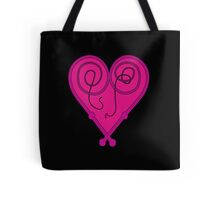 Whip Heart Pretty Pink Tote Bag