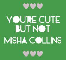 Cute but not Misha Collins - liferuiner 03 One Piece - Short Sleeve