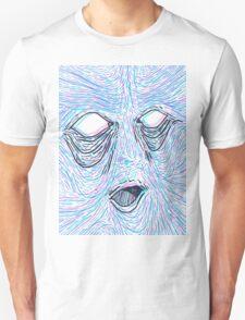 Melting face Unisex T-Shirt