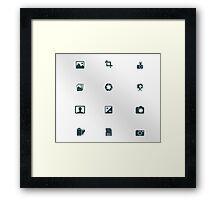 Iconz - Photo Framed Print