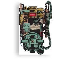 Proton pack (Ghostbusters) Canvas Print