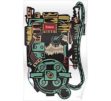 Proton pack (Ghostbusters) Poster