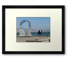 Two Hasidim by the Kinneret Framed Print