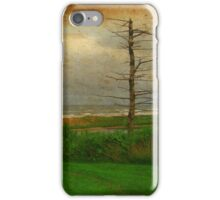 Desolate Beach Landscape | Stormy Seascape | PEI Canada iPhone Case/Skin