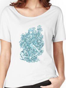 Mermaid Doodle Women's Relaxed Fit T-Shirt