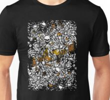 Gold rush dark art skulls and souls Unisex T-Shirt