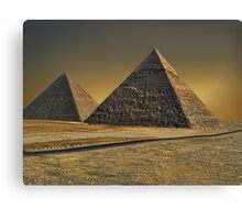 The Great Pyramid of Giza Cairo Egypt   Canvas Print