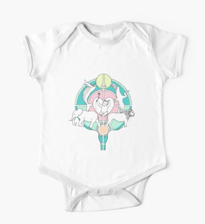 Army of love in color pen drawing One Piece - Short Sleeve