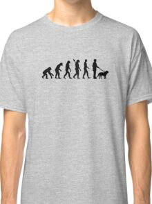 Evolution Walk the dog Classic T-Shirt