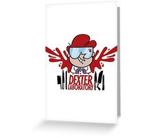 Dexter Laboratory Greeting Card