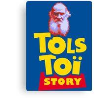 Tolstoi Story Canvas Print