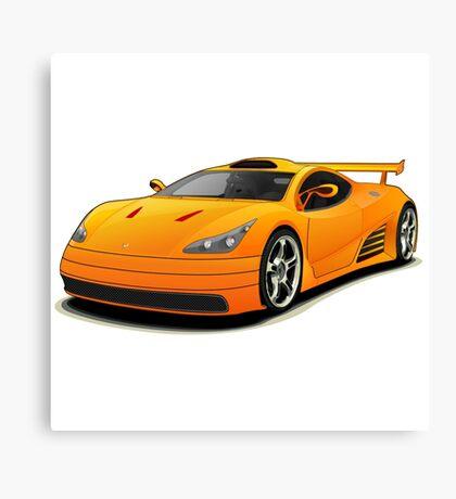 sport car Canvas Print