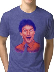 Young Robin Williams Tri-blend T-Shirt