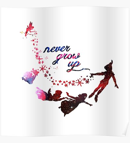 Never Grow Up Nebula  Poster