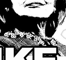 Hillary Clinton Like a Boss Sticker