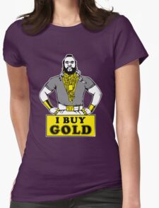 I Buy Gold Womens Fitted T-Shirt