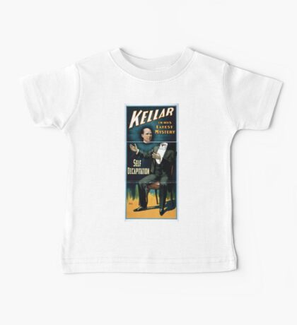 Performing Arts Posters Kellar in his latest mystery 1846 Baby Tee