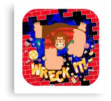 Wreck it Ralph Canvas Print