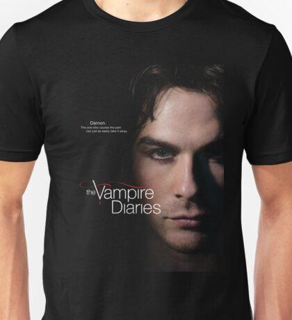 The Vampire Diaries Damon Quotes Unisex T-Shirt