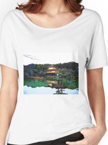 Zen Buddhist temple Kyoto Japan Women's Relaxed Fit T-Shirt