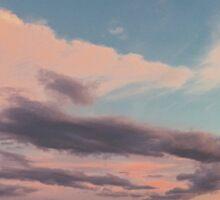 Harpswell Sunset  Sticker