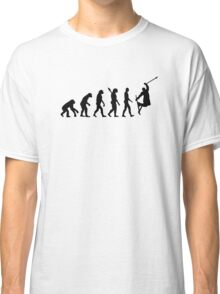 Evolution freestyle skiing Classic T-Shirt