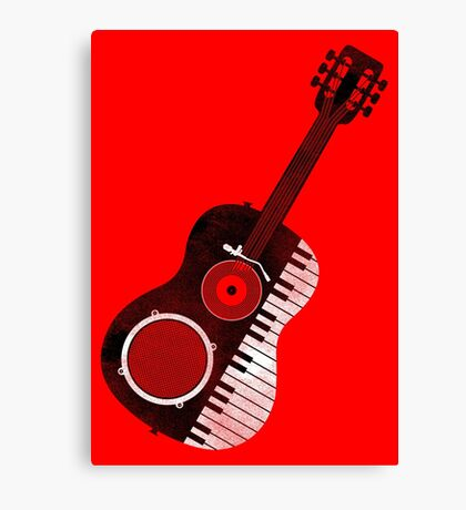 Acoustic Remix Canvas Print