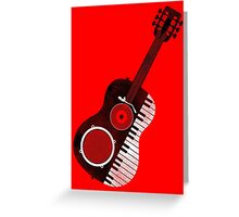 Acoustic Remix Greeting Card