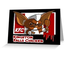 Kingston Falls Chicken Greeting Card