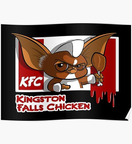 Kingston Falls Chicken Poster