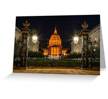 San Francisco City Hall in Orange Greeting Card