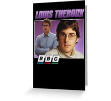 Louis Theroux 90s Tee Greeting Card