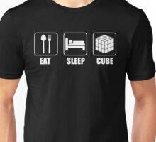 Rubiks Cube-Cuber Tee-Rubiks Cube Gifts Eat Sleep Cube,Fan,Lovers Unisex T-Shirt
