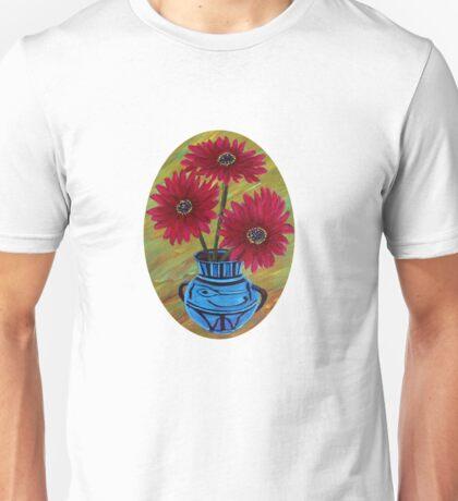 Blue vase with flowers/ still life  Unisex T-Shirt