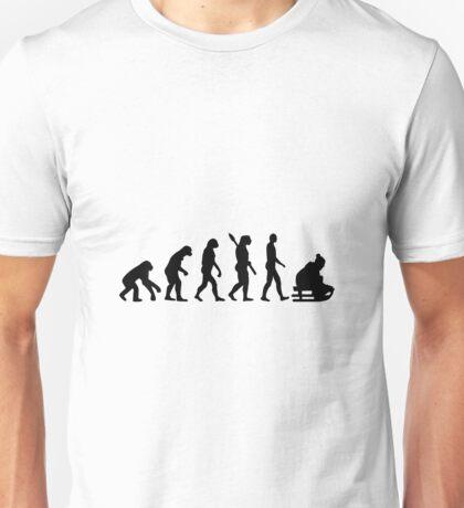Evolution sled sleigh Unisex T-Shirt