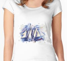 Sail Movements Women's Fitted Scoop T-Shirt