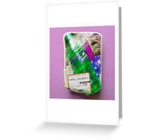 lunch bag Greeting Card