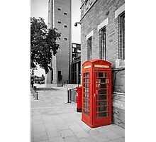 Red Telephone & Post Box Photographic Print