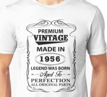 Premium Vintage 1956 Aged To Perfection Unisex T-Shirt