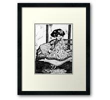 Manchu Girl Framed Print