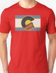 Red Rocks Colorado  Unisex T-Shirt
