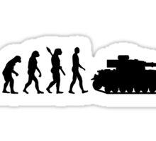 Evolution Tank Sticker
